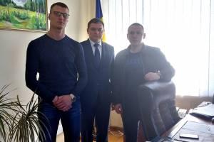 Зустріч з заступником міського голови м. Ужгород в МАА Закарпаття